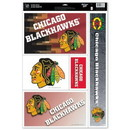 Chicago Blackhawks Decal 11x17 Ultra
