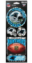 Carolina Panthers Stickers Prismatic