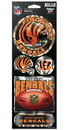 Cincinnati Bengals Stickers Prismatic