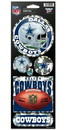 Dallas Cowboys Stickers Prismatic