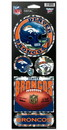 Denver Broncos Stickers Prismatic