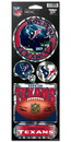 Houston Texans Stickers Prismatic