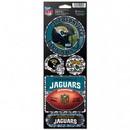 Jacksonville Jaguars Stickers Prismatic