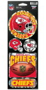 Kansas City Chiefs Stickers Prismatic
