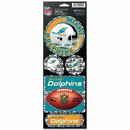 Miami Dolphins Stickers Prismatic