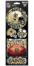 New Orleans Saints Stickers Prismatic