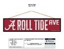 Alabama Crimson Tide Sign 4x17 Wood Avenue Design