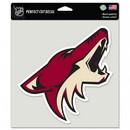 Arizona Coyotes Decal 8x8 Die Cut Color