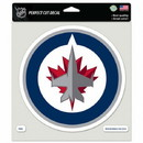 Winnipeg Jets Decal 8x8 Perfect Cut Color - Special Order