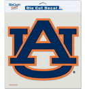 Auburn Tigers Decal 8x8 Die Cut Color