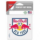 New York Red Bulls Decal 4x4 Perfect Cut Color