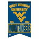 West Virginia Mountaineers Banner 17x26 Pennant Style Premium Felt