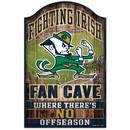 Notre Dame Fighting Irish Wood Sign - 11