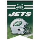 New York Jets Banner 17x26 Pennant Style Premium Felt