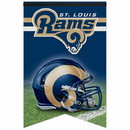 St. Louis Rams Banner 17x26 Pennant Style Premium Felt