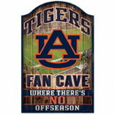 Auburn Tigers Sign 11x17 Wood Fan Cave Design Special Order
