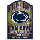 Penn State Nittany Lions Sign 11x17 Wood Fan Cave Design Special Order