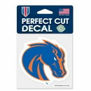 Boise State Broncos Decal 4x4 Perfect Cut Color Special Order