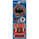 Texas Tech Red Raiders Stickers Prismatic