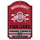 Ohio State Buckeyes Wood Sign - 11