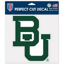 Baylor Bears Decal 8x8 Perfect Cut Color Special Order