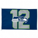 Seattle Seahawks 12th Man 3' x 5' Flag