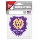 Orlando City SC Decal 4x4 Perfect Cut Color