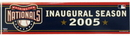 Washington Nationals Bumper Sticker - Inaugural Season