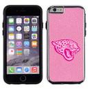 Jacksonville Jaguars Pink NFL Football Pebble Grain Feel IPhone 6 Case