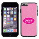 New York Jets Pink NFL Football Pebble Grain Feel IPhone 6 Case