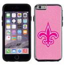New Orleans Saints Pink NFL Football Pebble Grain Feel IPhone 6 Case