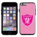 Oakland Raiders Pink NFL Football Pebble Grain Feel IPhone 6 Case