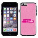 Seattle Seahawks Pink NFL Football Pebble Grain Feel IPhone 6 Case