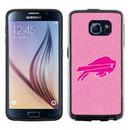 Buffalo Bills Pink NFL Football Pebble Grain Feel Samsung Galaxy S6 Case