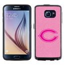 Chicago Bears Pink NFL Football Pebble Grain Feel Samsung Galaxy S6 Case