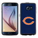 Chicago Bears Team Color NFL Football Pebble Grain Feel Samsung Galaxy S6 Case