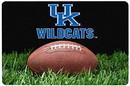 Kentucky Wildcats Classic Football Pet Bowl Mat - L - Special Order