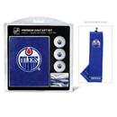 Edmonton Oilers Golf Gift Set with Embroidered Towel