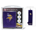 Minnesota Vikings Golf Gift Set with Embroidered Towel