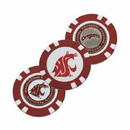 Washington State Cougars Golf Chip with Marker Special Order