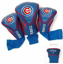Chicago Cubs Golf Club 3 Piece Contour Headcover Set