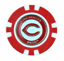 Cincinnati Reds Golf Chip with Marker - Bulk