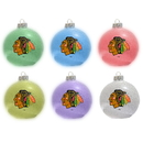 Chicago Blackhawks Ornament - LED Color Changing Ball