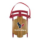 Houston Texans Ornament - Metal Sled