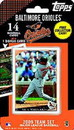 Baltimore Orioles 2009 Topps Team Set