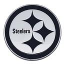 Pittsburgh Steelers Auto Emblem Premium Metal Chrome
