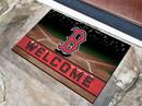 Boston Red Sox Door Mat 18x30 Welcome Crumb Rubber