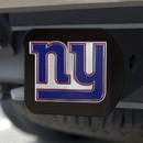 New York Giants Hitch Cover Color Emblem on Black