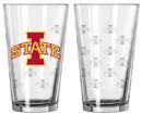 Iowa State Cyclones Satin Etch Pint Glass Set