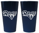 St. Louis Rams Lusterware Pint Glass - Set of 2